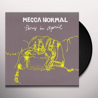 Mecca Normal PARIS IN APRIL Vinyl Record