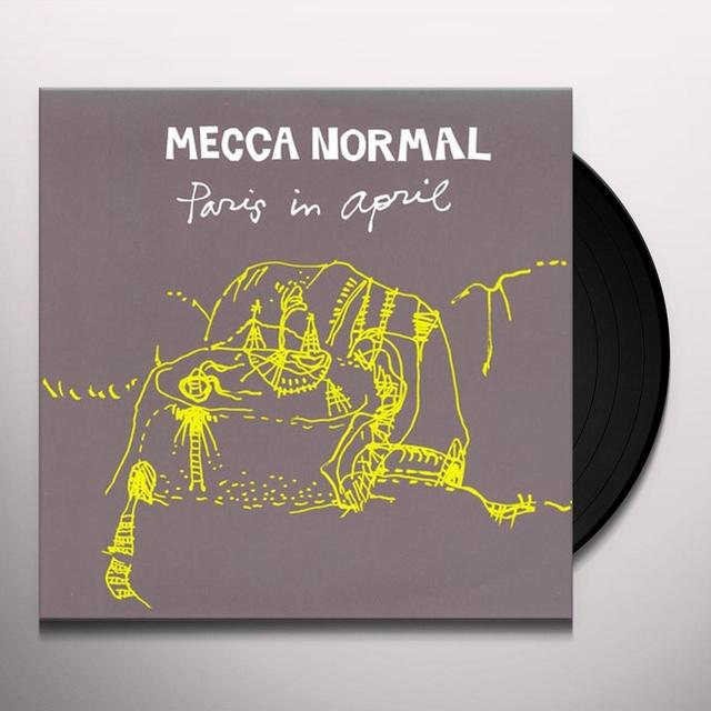 Mecca Normal PARIS IN APRIL Vinyl Record - Canada Import
