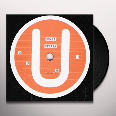 Erase Errata ALPHABET SERIES-U- Vinyl Record - Canada Import