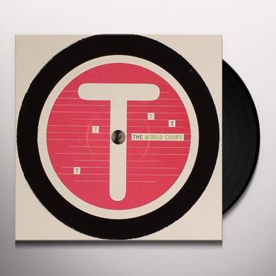 World Court TOMLAB ALPHABET SERIES-T Vinyl Record