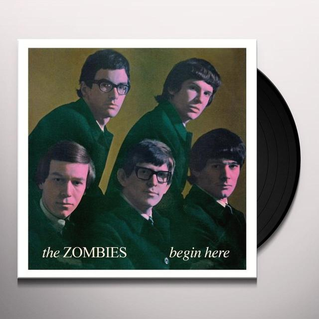 The Zombies BEGIN HERE Vinyl Record - Mono
