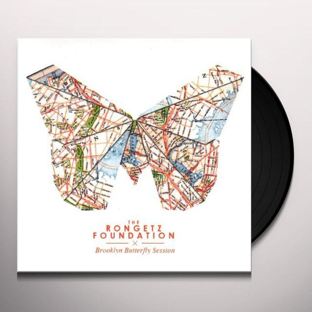 The Rongetz Foundation BROOKLYN BUTTERFLY SESSION Vinyl Record - UK Import