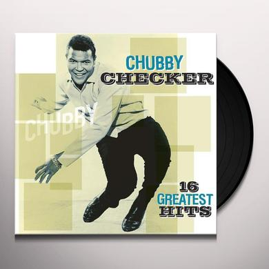 Chubby Checker 16 GREATEST HITS Vinyl Record - Holland Import