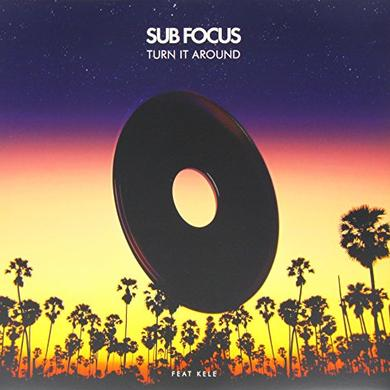 Sub Focus TURN IT AROUND Vinyl Record - UK Release