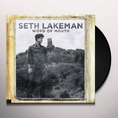 Seth Lakeman WORD OF MOUTH Vinyl Record - UK Import