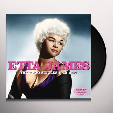 Etta James ARGO RECORDS 1960-62 Vinyl Record