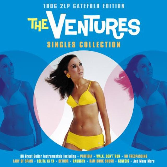 Ventures SINGLES COLLECTION Vinyl Record - UK Import