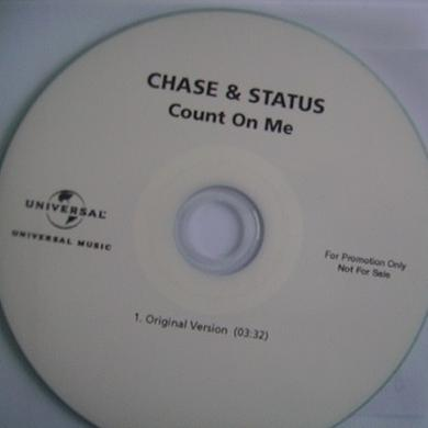 Chase & Status COUNT ON ME Vinyl Record - UK Release