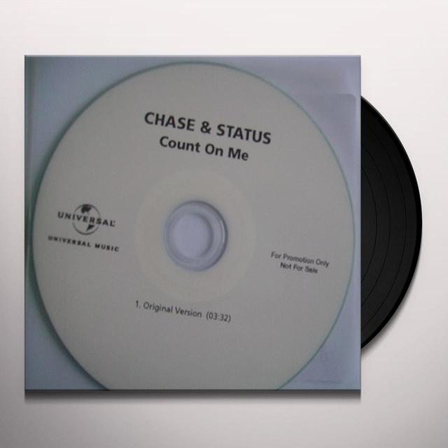 Chase & Status COUNT ON ME Vinyl Record - UK Import
