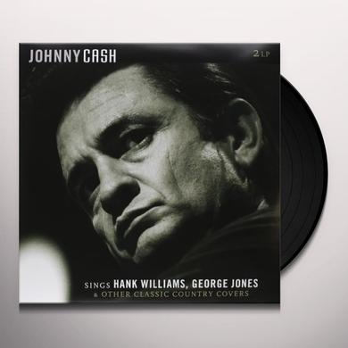 Johnny Cash SINGS HANK WILLIAMS GEORGE JONES & OTHER CLASSIC C Vinyl Record