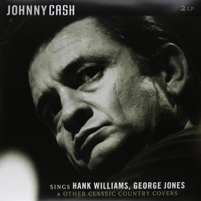Johnny Cash SINGS HANK WILLIAMS GEORGE JONES & OTHER CLASSIC C Vinyl Record