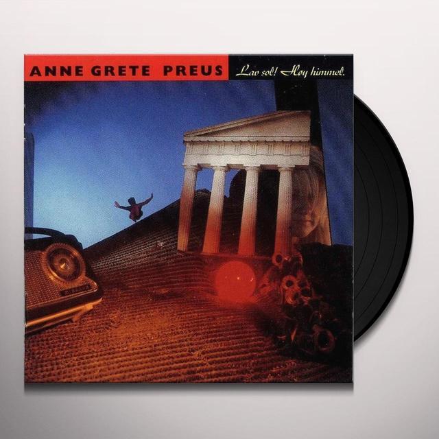 Anne Grete Preus LAV SOL! HOY HIMMEL Vinyl Record - Holland Import