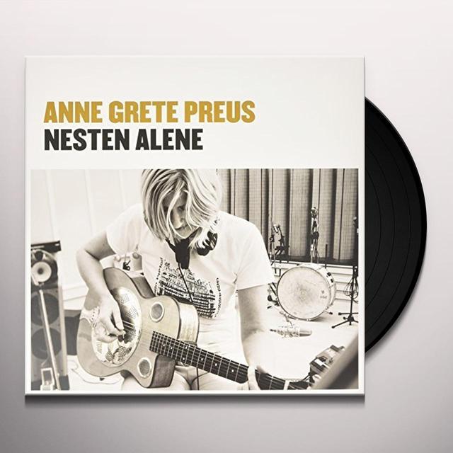 Anne Grete Preus NESTEN ALLENE Vinyl Record - Holland Import