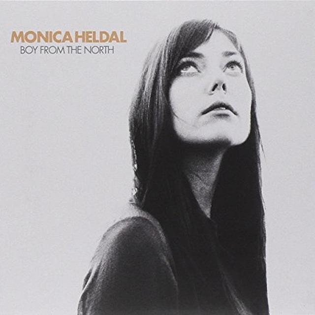 Monica Heldal BOY FROM THE NORTH Vinyl Record - Holland Import