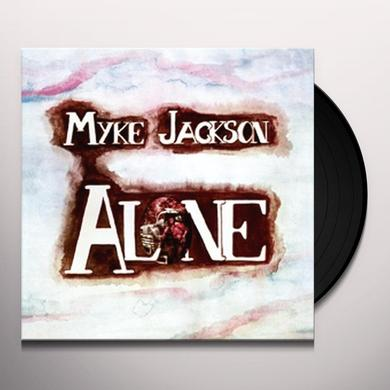 Myke Jackson ALONE Vinyl Record - Holland Import