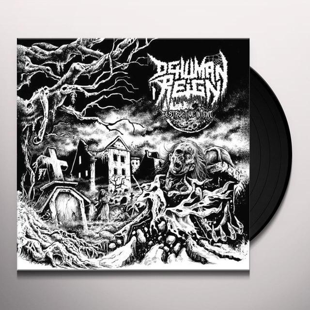 Dehuman Reign DESTRUCTIVE INTENT Vinyl Record - Holland Import