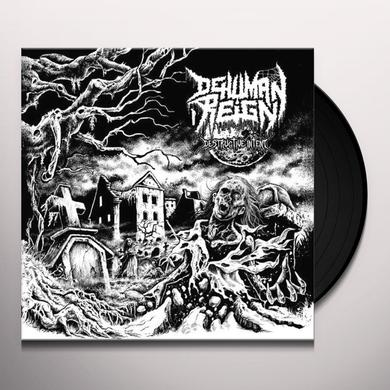 Dehuman Reign DESTRUCTIVE INTENT Vinyl Record