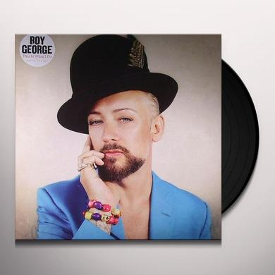 Boy George THIS IS WHAT I DO Vinyl Record - UK Import