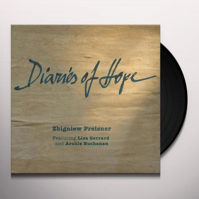 Zbigniew Preisner & Lisa Gerrard DIARIES OF HOPE (180G VINYL) Vinyl Record
