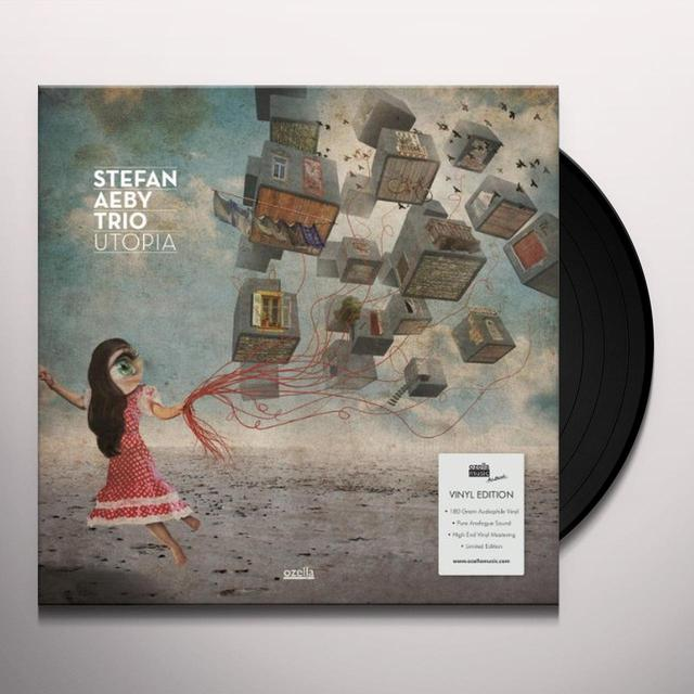 Stefan Aeby Trio UTOPIA Vinyl Record - UK Import