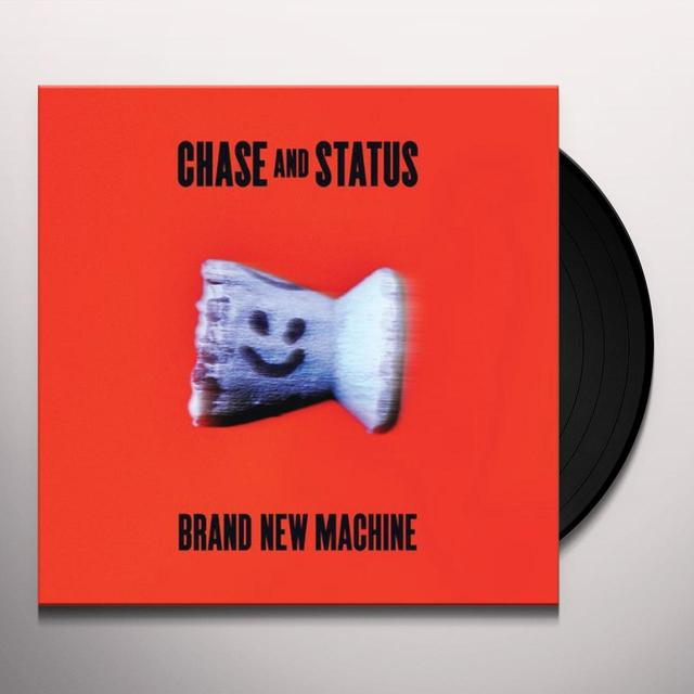 Chase & Status BRAND NEW MACHINE Vinyl Record - UK Release