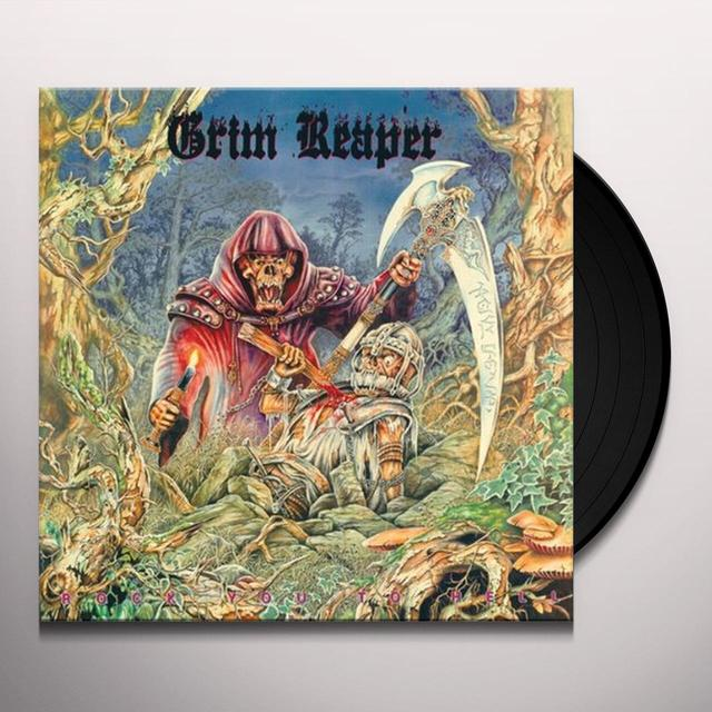 Grim Reaper ROCK YOU TO HELL Vinyl Record - UK Import