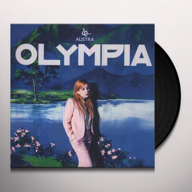 Austra OLYMPIA Vinyl Record - Canada Import