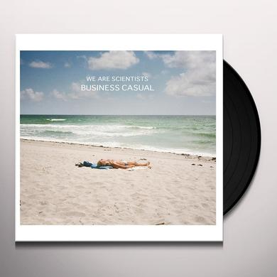 We Are Scientists BUSINESS CASUAL Vinyl Record - UK Release