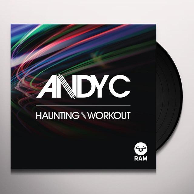 Andy C HAUNTING / WORKOUT Vinyl Record - UK Release