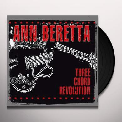 Ann Beretta THREE CHORD REVOLUTION Vinyl Record
