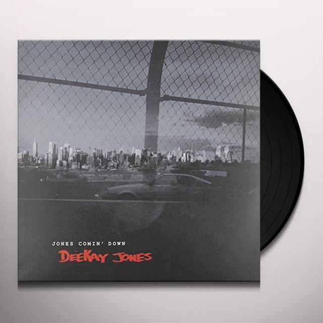 Deekay Jones JONES COMIN' DOWN Vinyl Record - UK Import