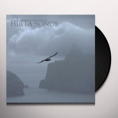 Alasdair Roberts & Robin Robertson HIRTA SONGS Vinyl Record - Canada Import