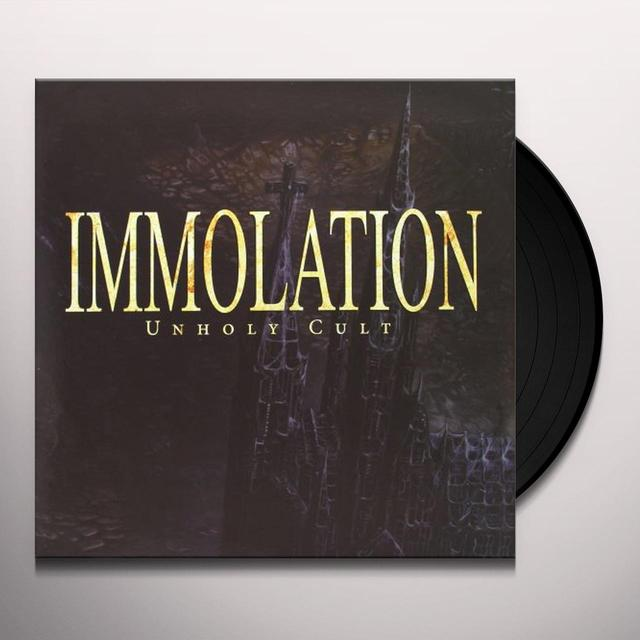 Immolation UNHOLY CULT Vinyl Record - UK Import