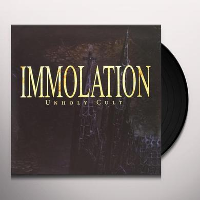 Immolation UNHOLY CULT Vinyl Record