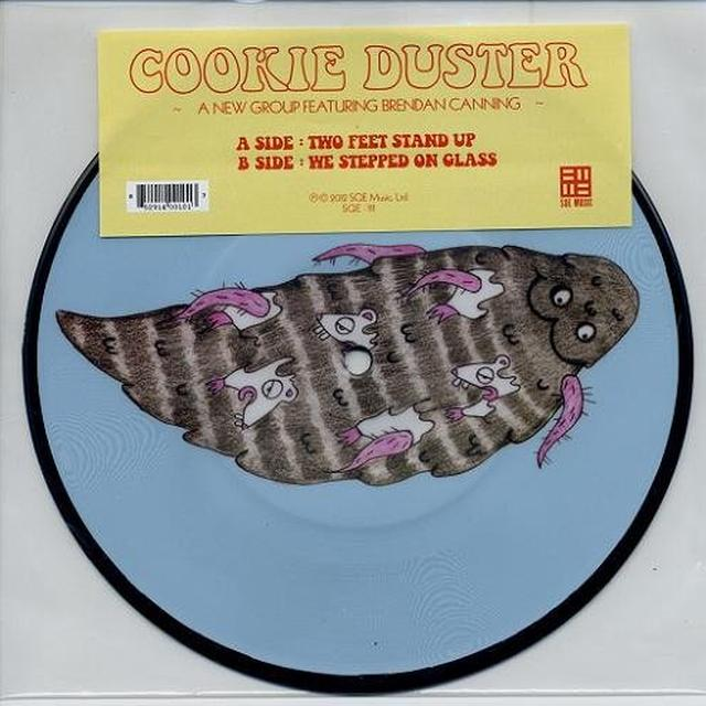 Cookie Duster TWO FEET STAND UP Vinyl Record - Canada Import