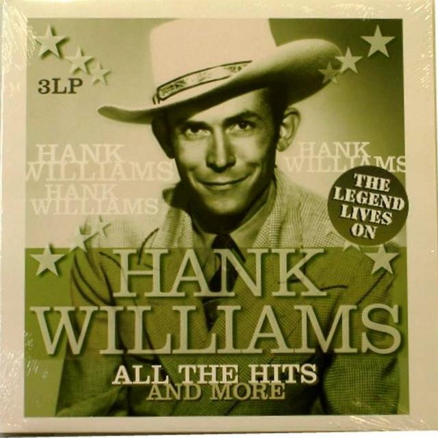 Hank Williams ALL THE HITS & MORE Vinyl Record