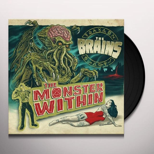 Brains MONSTER WITHIN THE Vinyl Record - Canada Release