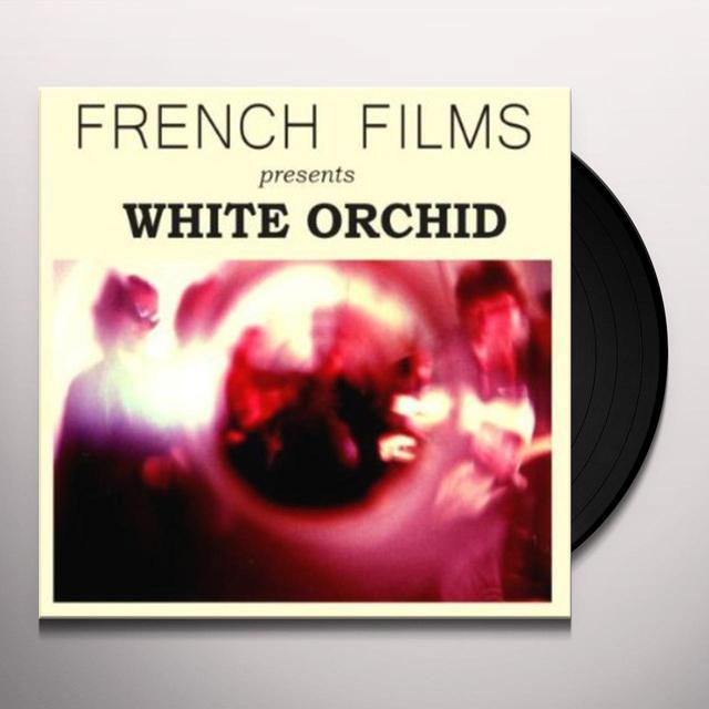French Films WHITE ORCHID (GER) Vinyl Record