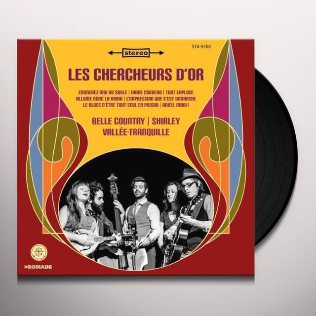 LES CHERCHEURS D'OR Vinyl Record - Canada Import