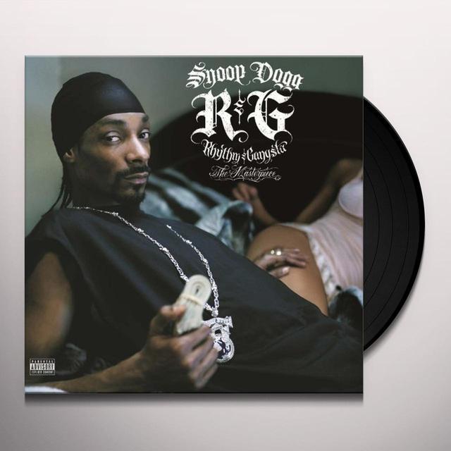 Snoop Dogg R&G (RHYTHM & GANGSTA): THE MASTERPIECE Vinyl Record - UK Import