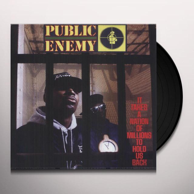 Public Enemy IT TAKES A NATION OF MILLIONS TO HOLD US BACK Vinyl Record - UK Import