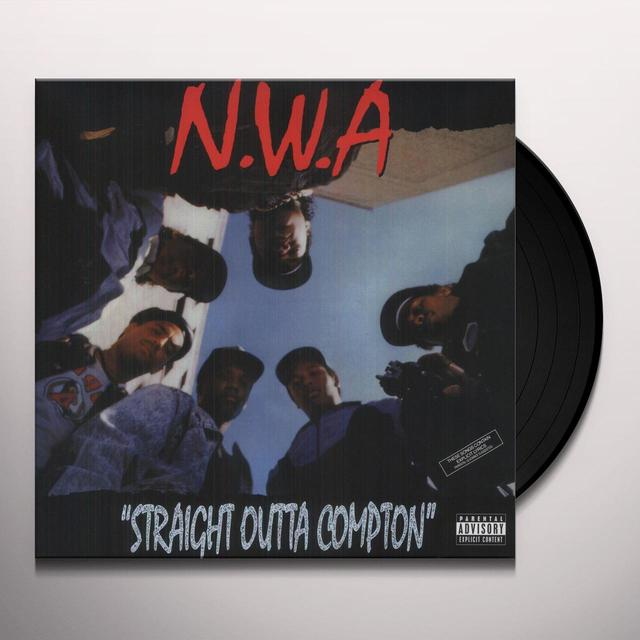 N.W.A. STRAIGHT OUTTA COMPTON Vinyl Record - UK Import