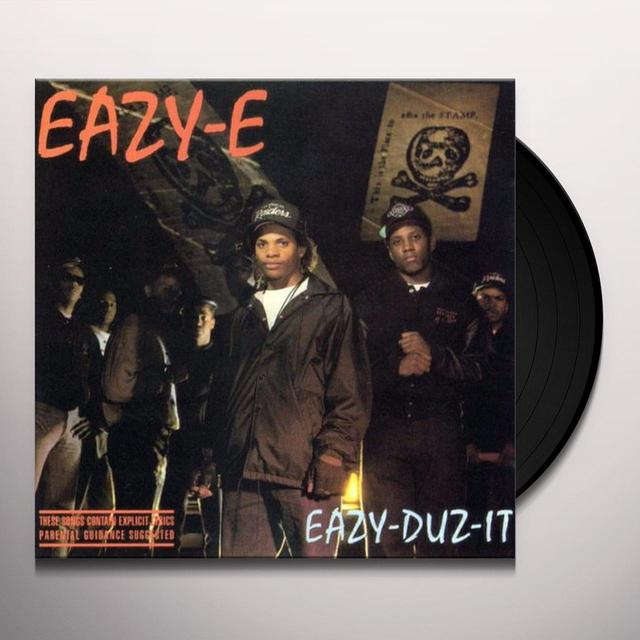 Eazy-E EAZY-DUZ-IT Vinyl Record - UK Release