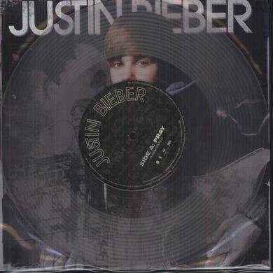 Justin Bieber PURE Vinyl Record - Canada Release