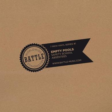 Empty Pools BATTLE 7 IINCH SERIES NO. 1 Vinyl Record