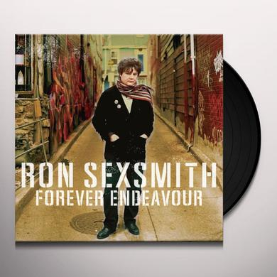 Ron Sexsmith FOREVER ENDEAVOUR Vinyl Record - Canada Import