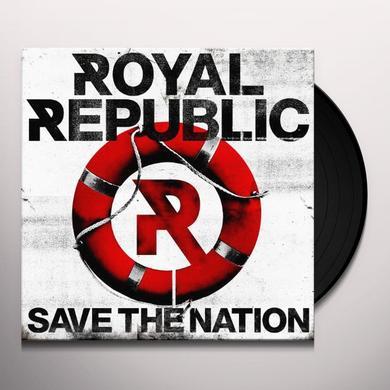 Royal Republic SAVE THE NATION (GER) Vinyl Record