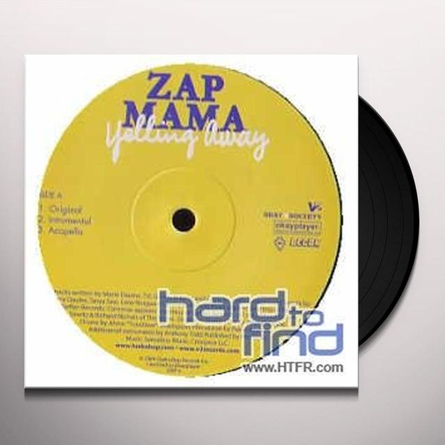 Zap Mama YELLING AWAY (GER) Vinyl Record