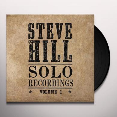 Steve Hill SOLO RECORDINGS 1 Vinyl Record - Canada Import