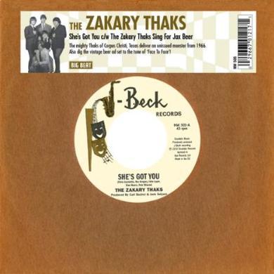 SHE'S GOT YOU/THE ZAKARY THAKS SING FOR JAX BEER Vinyl Record